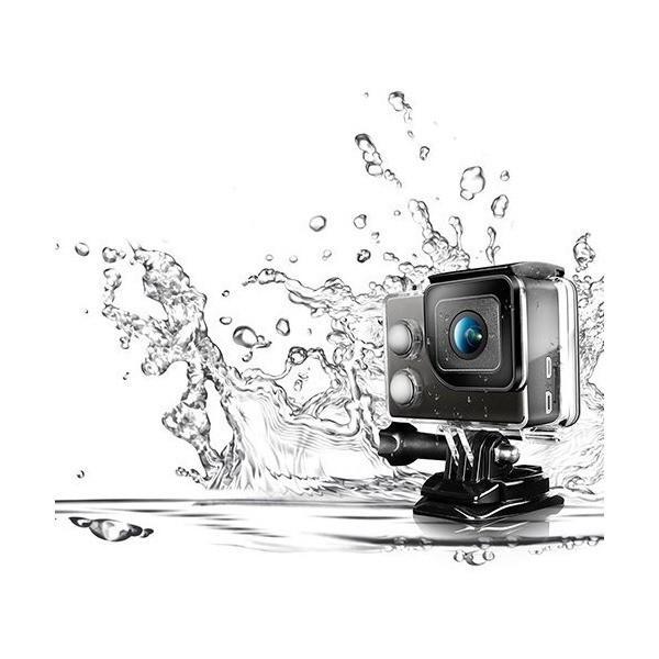 INBYTE フルHDアクションカム ウェアラブルカメラ 40m防水 ISAW EDGE