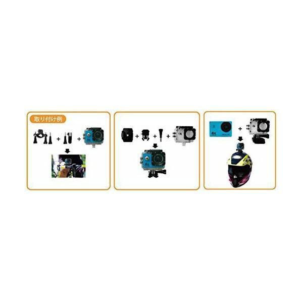 4Kウェアラブルビデオカメラレコーダー【アースカム】
