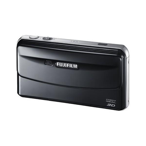 FUJIFILM 3Dカメラ FinePix REAL ブラック F FX-3D W1