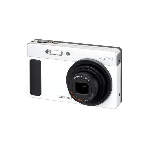 PENTAX デジタルカメラ Optio H90 セラミックホワイト OPTIOH90SH