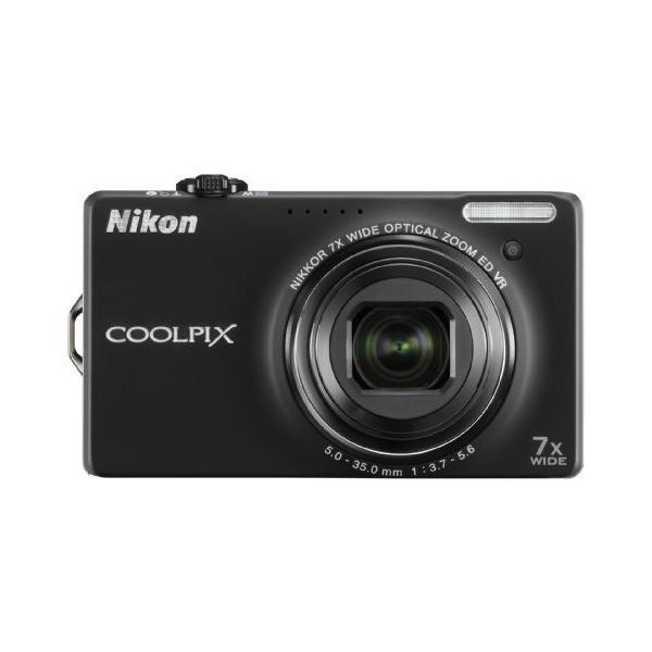 Nikon デジタルカメラ COOLPIX クールピクス S6000 ノーブルブラック S6000BK
