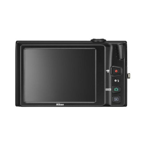 NikonデジタルカメラCOOLPIX S6100 ノーブルブラック S6100BK