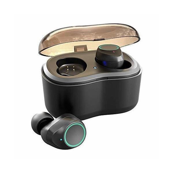 BASLO タッチ型タイプ Bluetoothイヤホン ワイヤレスイヤホン スポーツ スマホ対応 完全ワイヤレス イヤホン Bluetooth5.0