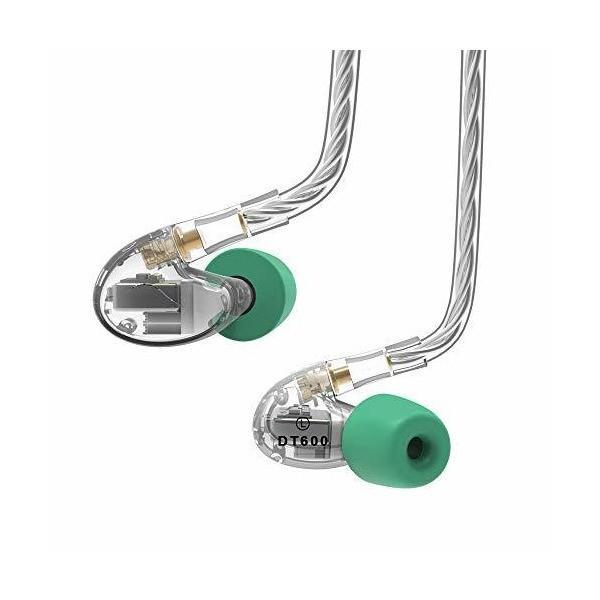 NICEHCK DT600 バランスドアーマチュア6基 MMCX カナル型イヤホン リケーブル 中高音重 3.5mmプラグ 銀メッキOFCケーブル