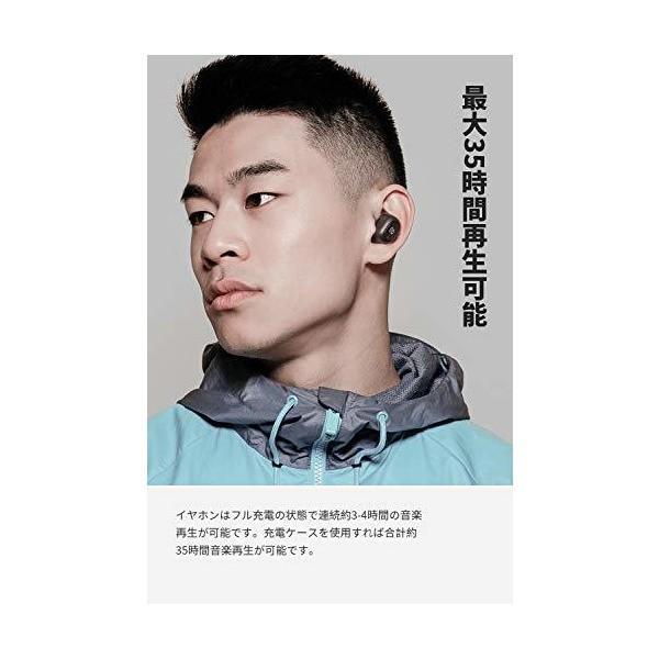 SoundPEATS(サウンドピーツ) TrueFree+ ワイヤレスイヤホン Bluetooth 5.0 完全ワイヤレス イヤホン AAC対応 3 skygarden 03