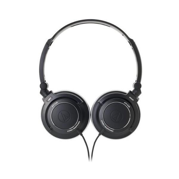 audio-technica ポータブルヘッドホン ATH-SJ55 BK
