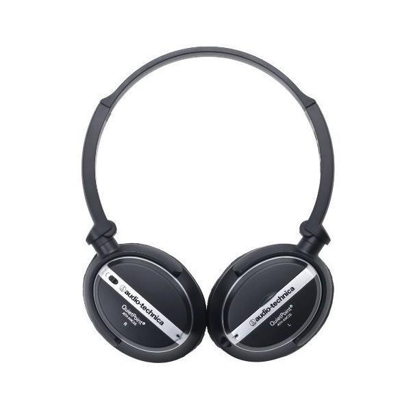 audio-technica QuietPoint 密閉型オンイヤーヘッドホン ノイズキャンセリング ATH-ANC25