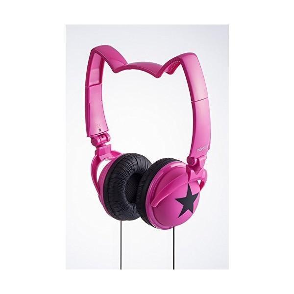 mix-style NEKOMIMI HEADPHONES star-PK [ピンク]