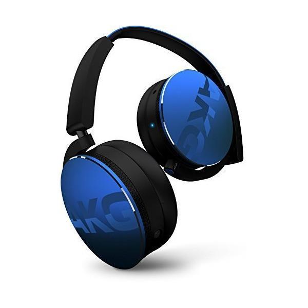 AKG Y50BT Bluetoothヘッドホン 密閉型 ブルー Y50BTBLU 【国内正規品】