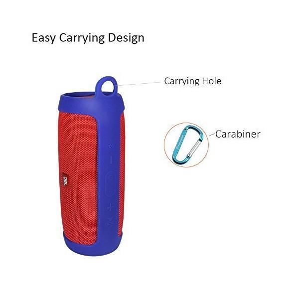 [New]Pushingbest JBL Charge3専用ケース JBL Bluetoothスピーカー保護袋 携帯便利 JBLチャージ3専用サウン
