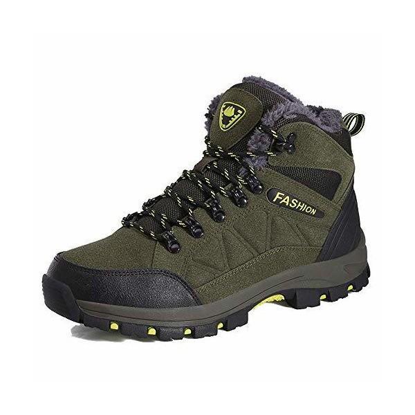 [TcIFE] トレッキングシューズ メンズ 防水 防滑 ハイカット 登山靴 大きいサイズ ハイキングシューズ メンズ 耐磨耗 ハイキングシューズ