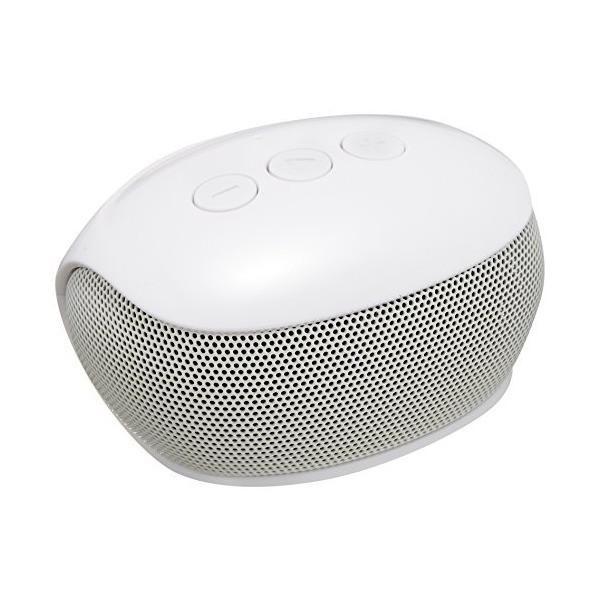 エレコム Bluetooth ブルートゥース スピーカー テレビ用ワイヤレススピーカー 送信機セット 3W出力 8時間再生 通信距離10m ホワイト