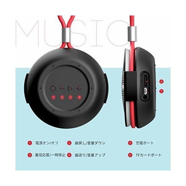 VTIN ワイヤレススピーカー お風呂 Bluetooth4.2重低音スピーカー 小型スピーカー IPX5防水仕様 高音質 大音量 内蔵マイク搭載