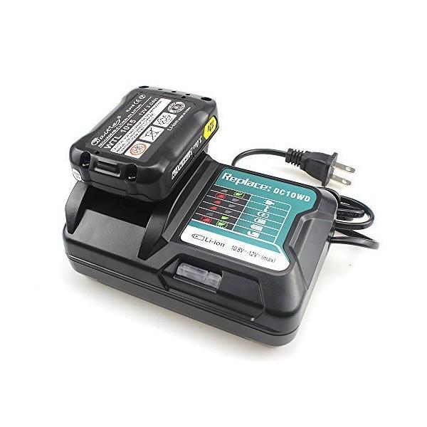 マキタ BL1015 バッテリー 充電器 DC10SA 10.8V12V 対応 BL1030 BL1050 BL1060 適用 電池用交換式チャー|skygarden|03