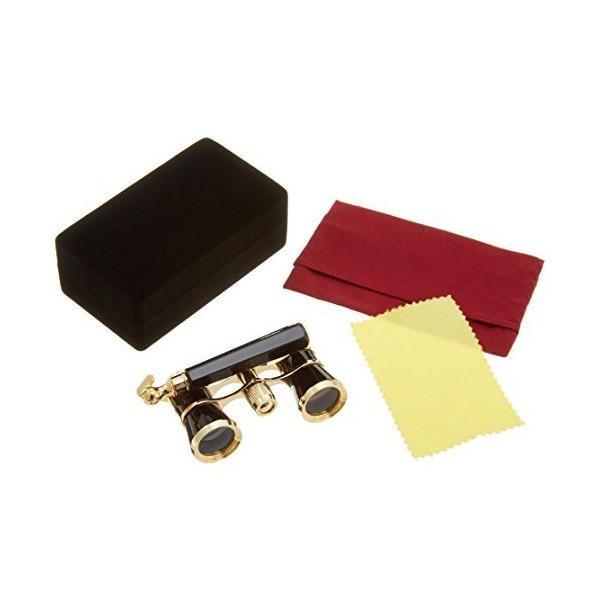 Vixen 双眼鏡 簡易オペラグラス コンサートミニ3×23ハンドル付き ブラック 710126