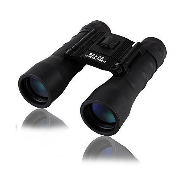 双眼鏡 22倍 高倍率 コンパクト 望遠鏡 22*32口径 BAK4ダハプリズム 小型 軽量 防水 高解像度 コンサート スポーツ観戦 登山 オペラ