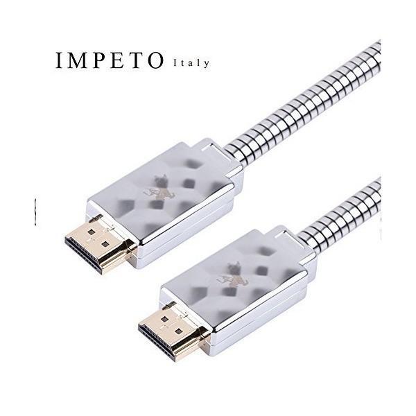 Impeto ハイエンドHDMIケーブル 【高耐久】ハイスピード 高音質 高画素 3D / 4K テレビ/HD/1080p/3D/Xbox/PS3/