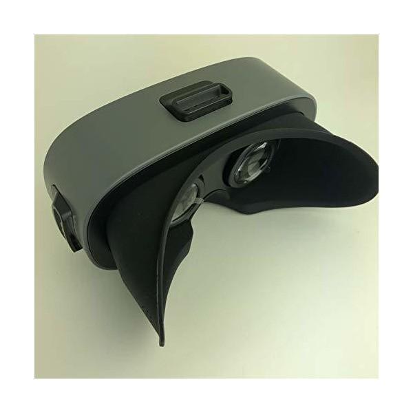 REMAX VR BOX RT-V05 VRゴーグル 5.2-5.7インチのスマホ対応 iPhone/Android 広角レンズ 超軽量 人体工学設