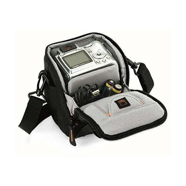 Lowepro ショルダーバッグ APEX 100 AW 0.9L レインカバー ブラック 349928