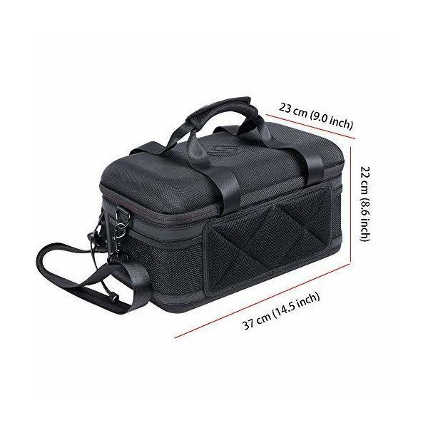 Smatree 一眼レフカメラケース Nikon/Canon/Sony/Pentax等対応ショルダーバッグ 大容量 男女兼用 耐衝撃 持ち運びに便利