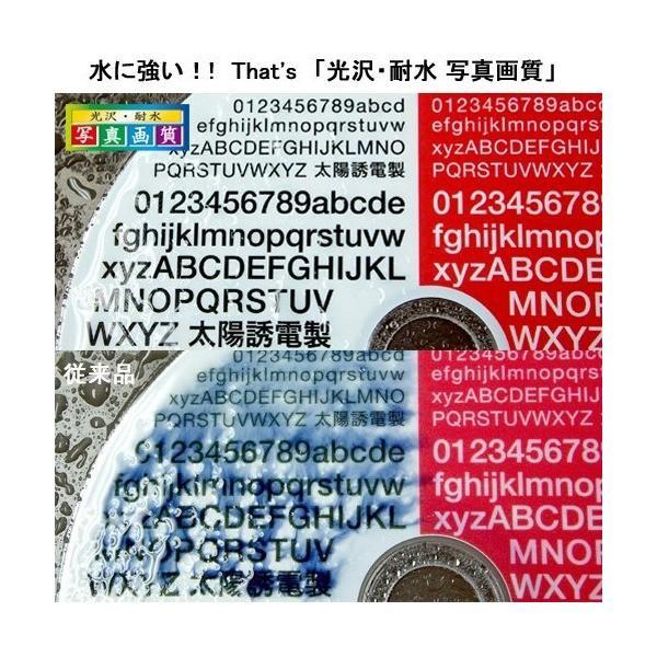 太陽誘電製 That's DVD-Rデータ用 16倍速4.7GB 光沢・耐水写真画質ワイドプリンタブル 5mmPケース10枚入 DR-47WKY10|skygarden|02