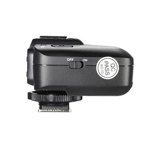 GODOX X1R-C 32 チャンネル TTL 1/8000s 無線リモートフラッシュ受信機 シャッターレリーズ Canon EOS カメラ適用