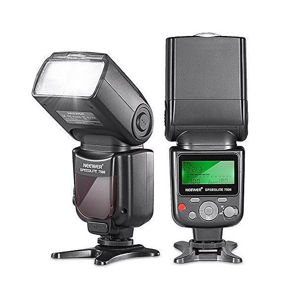 NEEWER スピードライト/フラッシュ/ストロボ NIKON D5000, D3000, D3100, D3200, P7100, D7000,
