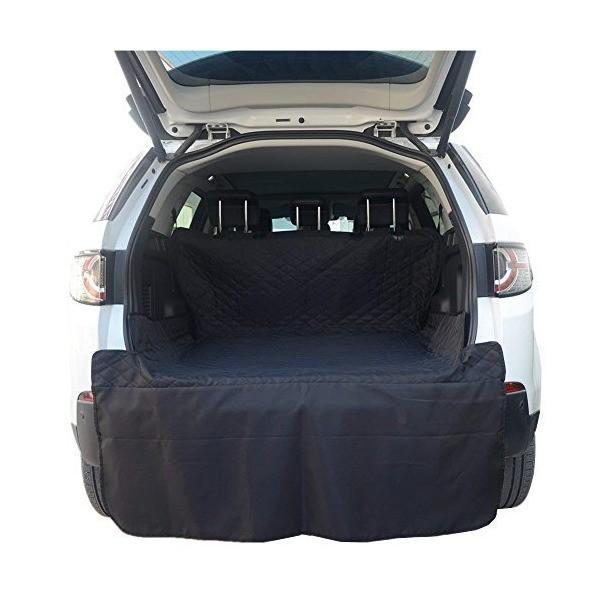 HONCENMAX ペット用ドライブシート 人気トランクマット 車用ペットシート 犬用カーシートカバー 防水 滑り止め 車後部座席 折り畳み式 取り|skygarden