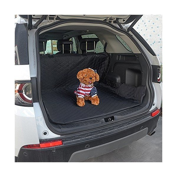 HONCENMAX ペット用ドライブシート 人気トランクマット 車用ペットシート 犬用カーシートカバー 防水 滑り止め 車後部座席 折り畳み式 取り|skygarden|03