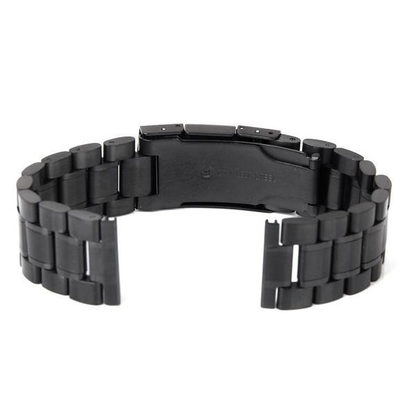 時計バンド 交換ベルト ステンレス製 腕時計ストラップ 24mm ゴールド  ベルト 腕時計 ベルトストラップ 時計ベルト
