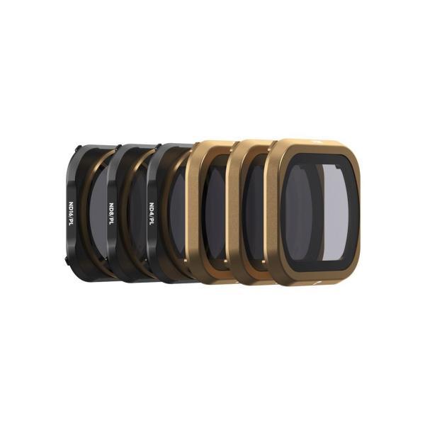 PolarPro Mavic 2 Pro シネマシリーズフィルターセット 6-Pack (ND4, ND8, ND16, ND4/PL, ND8/PL, ND16/PL) マビック 2 ドローン skylinkjapan