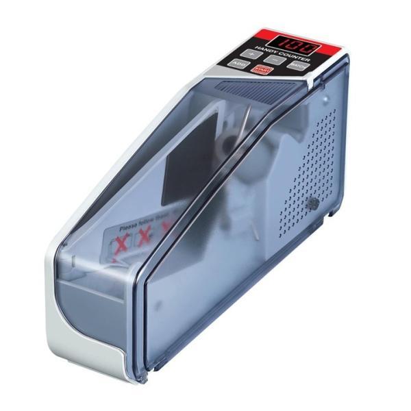マネーカウンター 簡単計数 ハンディタイプ 持ち運び可能 ポータブルお札カウンタ 高速でカウント 紙幣カウンター V40|skynet|04