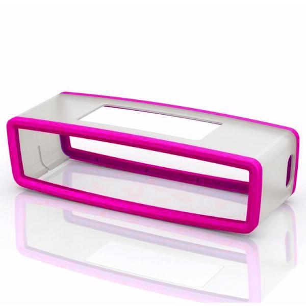 BOSE SoundLinkMini TPUケース 並行輸入品 カバー 傷防止 振動抑制 シリコン保護ケース おしゃれ 選べる4色 着せ替え BTBS815SCV