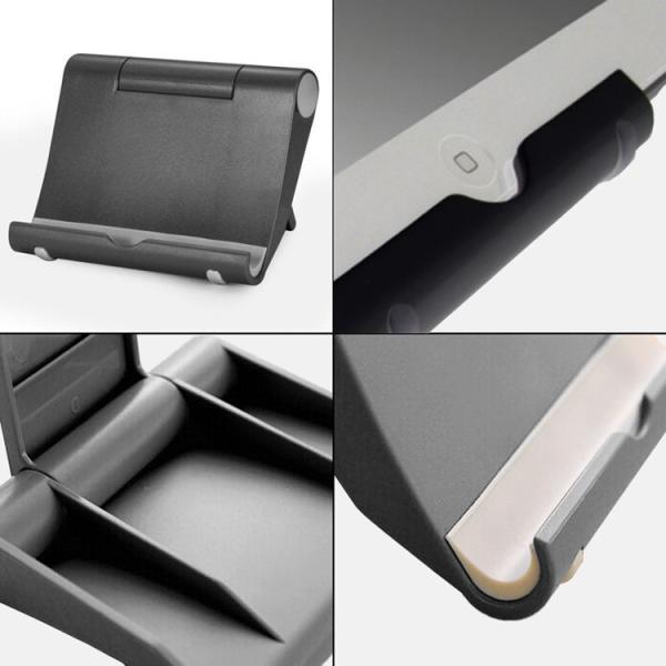 タブレット/スマートフォン用スタンド iPhone/iPad/タブレット/スマホなどに対応 170°角度調整可能 プラスティック WOWTS15|skynet|05