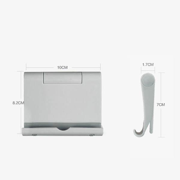 タブレット/スマートフォン用スタンド iPhone/iPad/タブレット/スマホなどに対応 170°角度調整可能 プラスティック WOWTS15|skynet|06