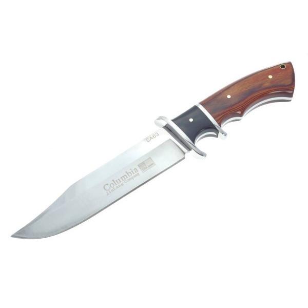 COLUMBIA KNIFE コロンビアナイフ SA63 フィンガーガード ウッド ...
