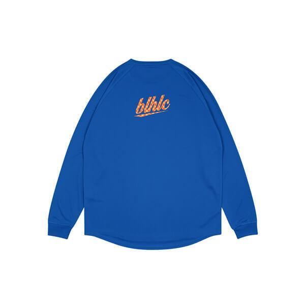 Ballaholic blhlc Back Print Cool Long Tee(ボーラホリック blhlc バックプリント クール ロング Tシャツ) 青/マンゴー/オレンジ