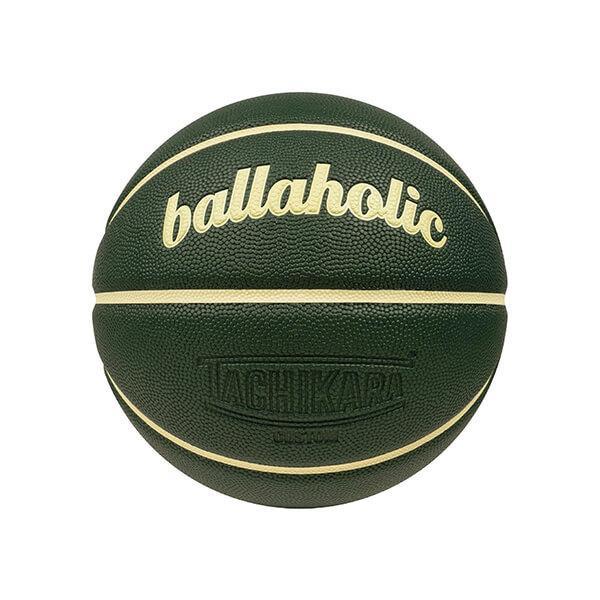 Ballaholic×TACHIKARA Playground Basketball(ボーラホリック タチカラ プレイグラウンド バスケットボール) ダークグリーン/アイボリー 7号球