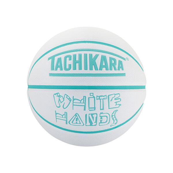 TACHIKARA White Hands(タチカラ ホワイトハンズ) 白/ライトアクア/6号球