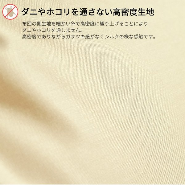 オリジナル 高密度生地使用 エヴィート 防ダニ 枕 ラージ 50×70cm 日本製 sleep-plus 02