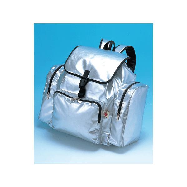 非常持出袋 ビックリュック(サイドポケット付) 48×49.5×18.5cm 防災避難用品袋のみ、中身は含まれておりません 東京都葛飾福祉工場