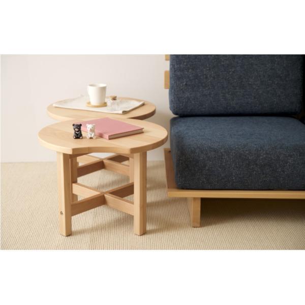 木製 カフェテーブル    ナイトテーブル ウォールナット タモ 石崎家具|sleepy|08