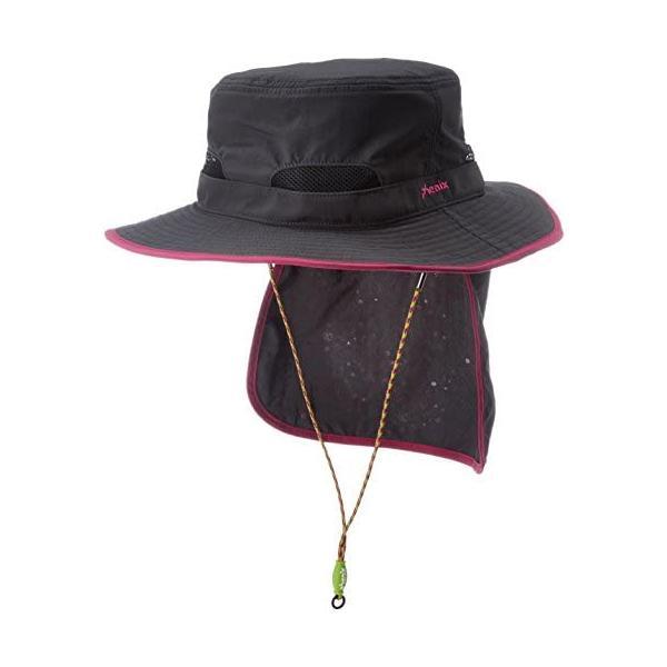 [フェニックス] トレッキング 帽子 ハット レディース PH828HW61 (オフブラック M)|slow-life-37