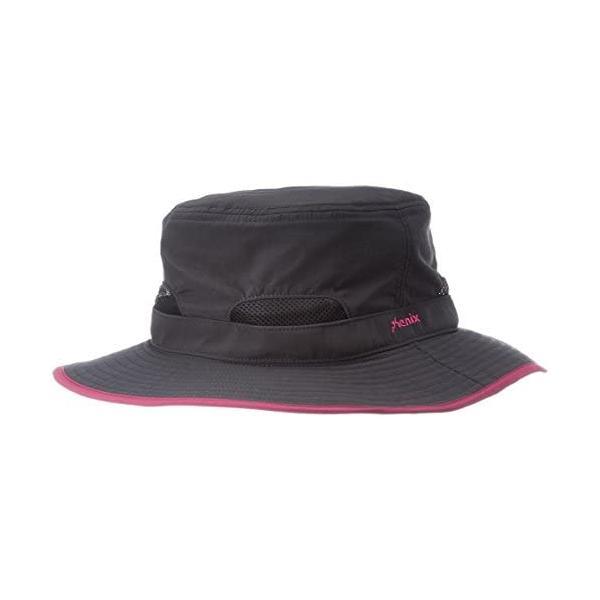 [フェニックス] トレッキング 帽子 ハット レディース PH828HW61 (オフブラック M)|slow-life-37|03
