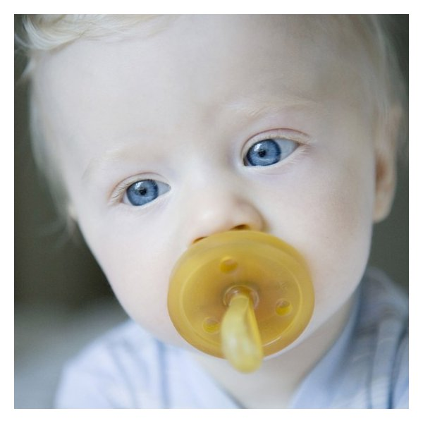 デンマーク NATURSUTTEN ナチュアスッテン 天然ゴム おしゃぶり 歯科矯正型 新生児〜6ヶ月
