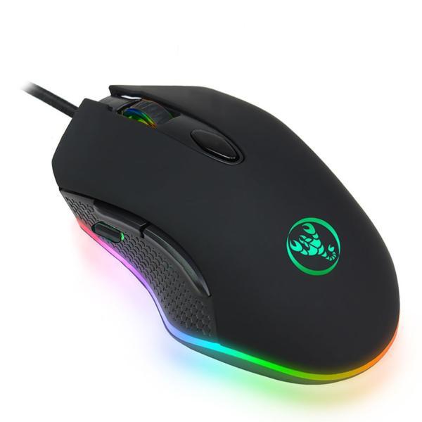 マウス ゲーミングマウス 高精度ターゲティング 12段調節可能 DPI 7ボタン 光学式 usb 有線 LEDライト 両利き使用対応 手首の痛みを予防 PUBG 荒野行動対応|smagenshop|10