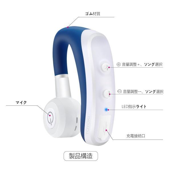 ヘッドセットBluetooth  ワイヤレスイヤホン ブルートゥース 両耳どちらでも使える ハンズフリー 通話 Android Iphone PC スマートフォンに対応|smagenshop|06
