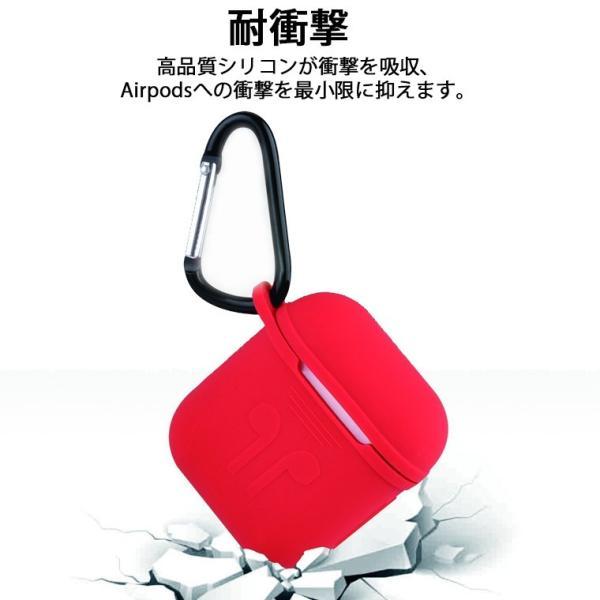 AirPods アップル イヤホン カバー 保護シリコンカバー + 耳フック + シリコンケースホルダー + ストラップ AirPods イヤホンケース エアポッズ ストラップ|smahoservic|05