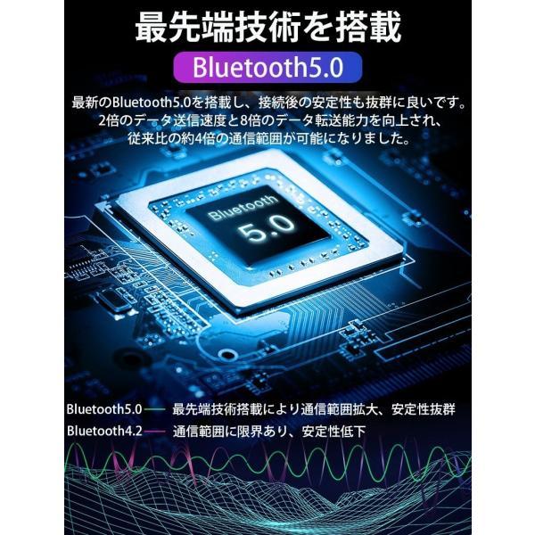 ワイヤレス イヤホン Bluetooth 5.0 ワイヤレス イヤホン ランニング イヤホン ブルートゥース iPhone 充電 モバイルバッテリー マグネット 無線|smahoservic|15