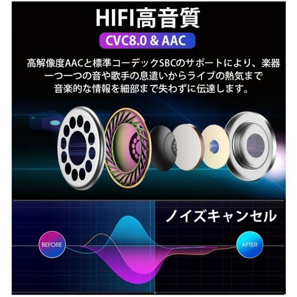 ワイヤレス イヤホン Bluetooth 5.0 ワイヤレス イヤホン ランニング イヤホン ブルートゥース iPhone 充電 モバイルバッテリー マグネット 無線|smahoservic|08